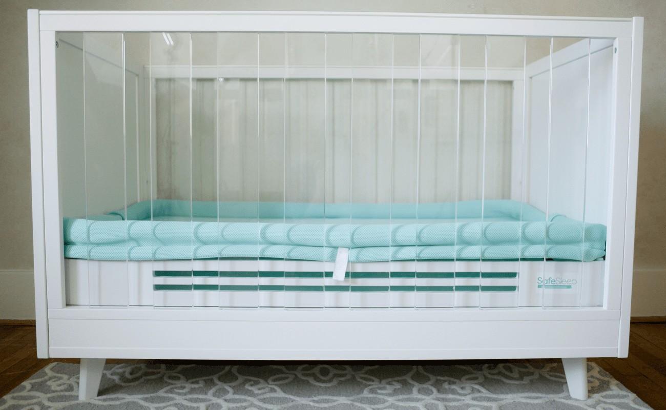 Safe Sleep Crib Mattress Topper Color Options