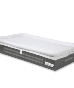 SafeSleep Crib Mattress Dark Espresso Base Product