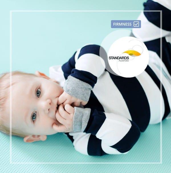 SafeSleep Crib Mattress firmness testing