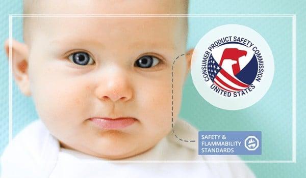 SafeSleep Crib Mattress flammability testing