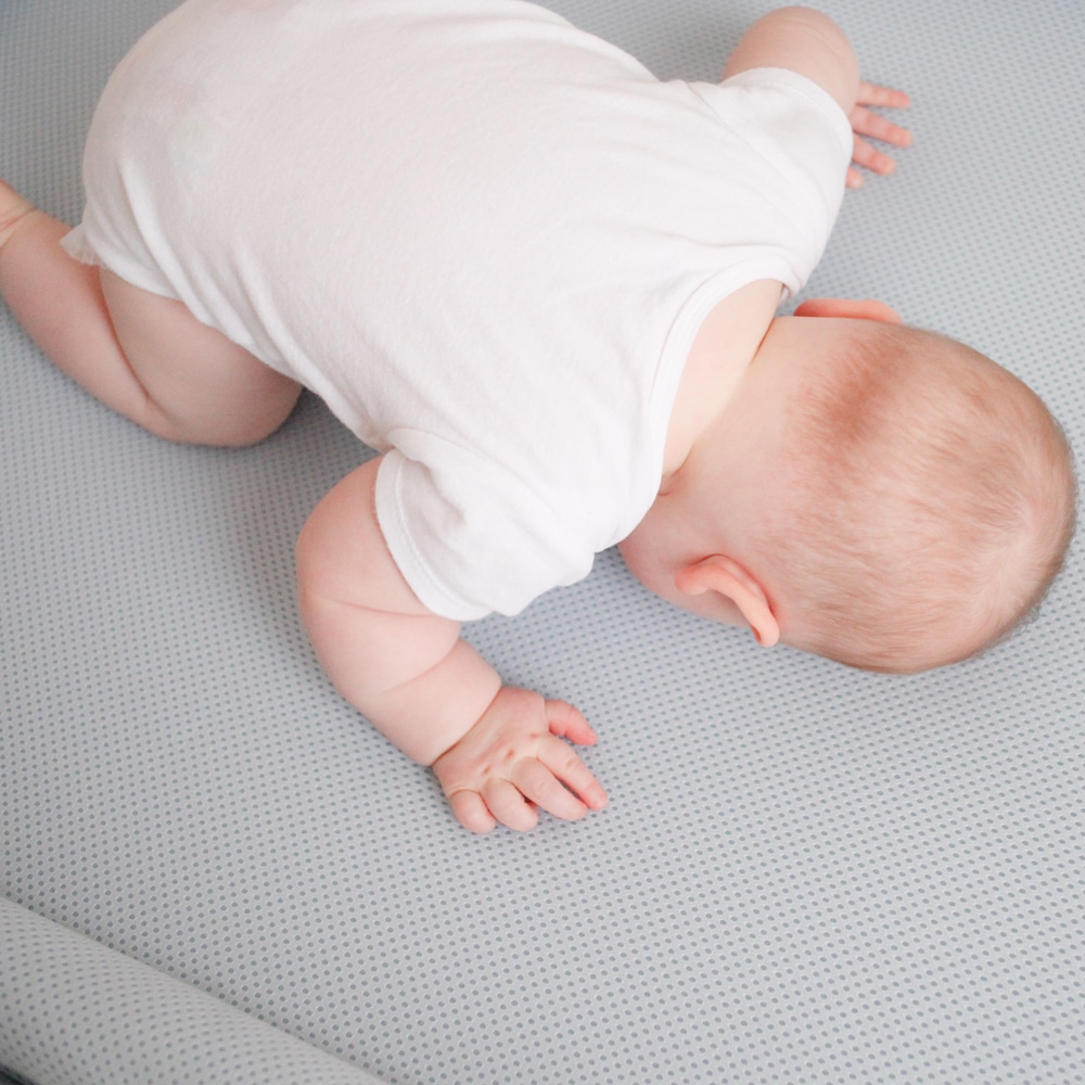 Safe Sleep Breathe-Through Crib Mattress Baby Breathing Through Mattress